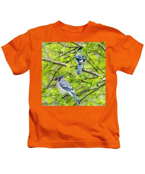 Springtime Pairs Kids T-Shirt