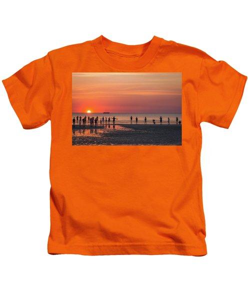 Sunset Over Mindil Beach Kids T-Shirt