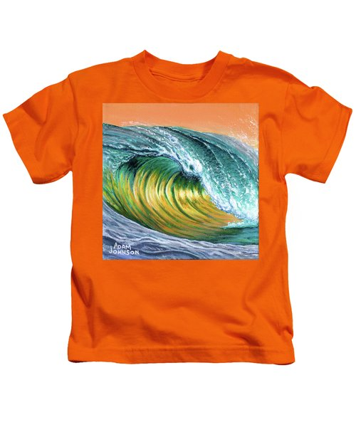 Surf Into The Sunset Kids T-Shirt