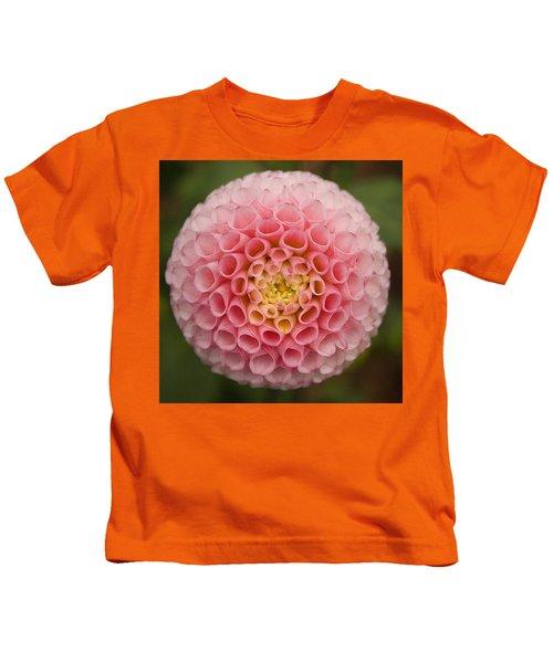 Symmetrical Dahlia Kids T-Shirt