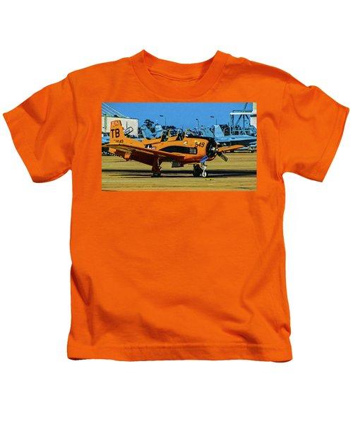 T-28 Trojan Kids T-Shirt