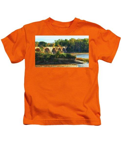 The Old Bridge  Kids T-Shirt