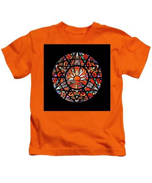 the Sun is Aflame Kids T-Shirt