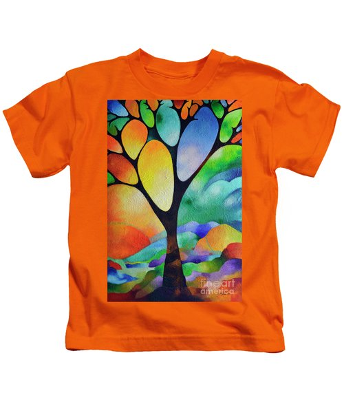 Tree Of Joy Kids T-Shirt