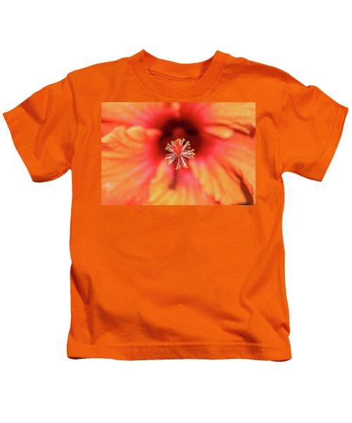 Tropical Hibiscus  Kids T-Shirt
