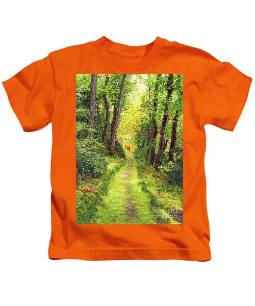 Walking Meditation Kids T-Shirt