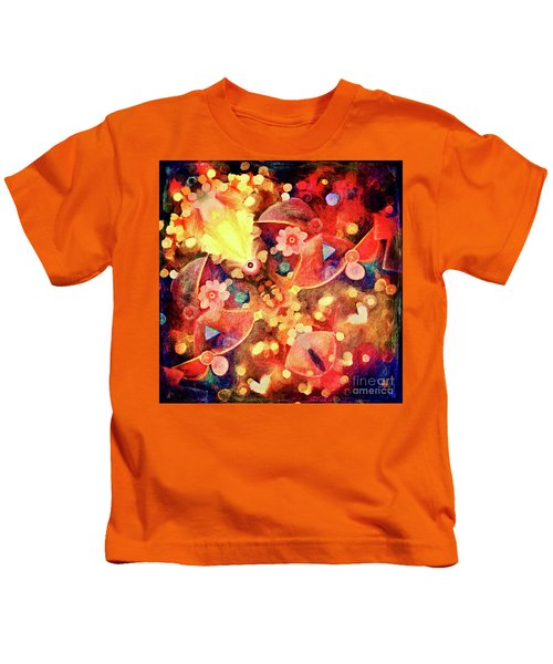 What Do You See-abstract Art Kids T-Shirt