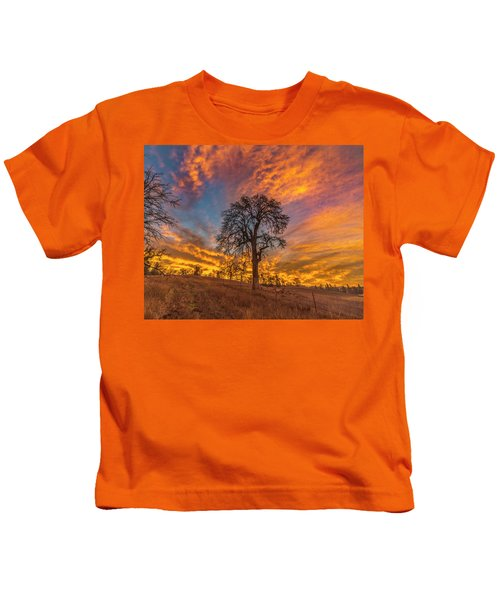Winter Sunrise Kids T-Shirt