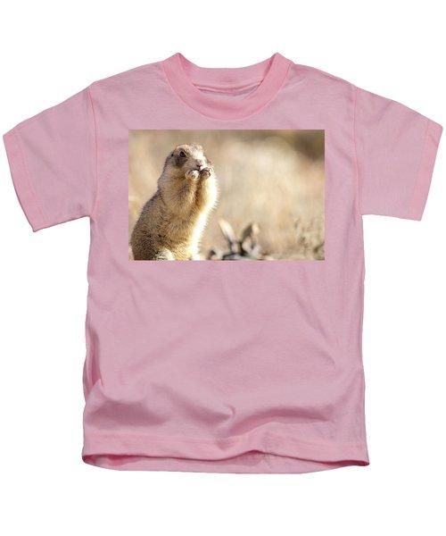Arches National Park Ground Squirrel Kids T-Shirt