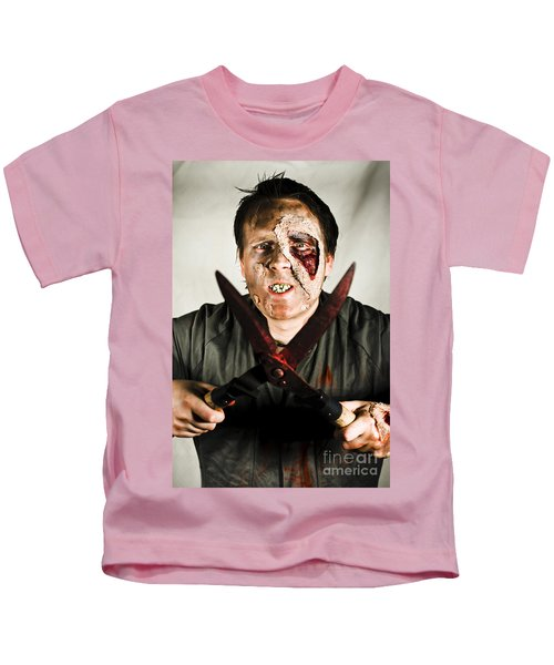 Death By Zombie Kids T-Shirt