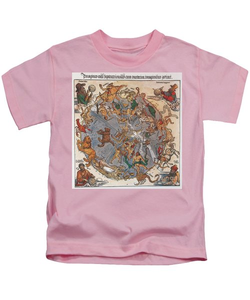 D�rer Star Map, 1515 Kids T-Shirt