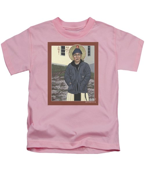 Holy World Evangelist Thomas Merton 267 Kids T-Shirt