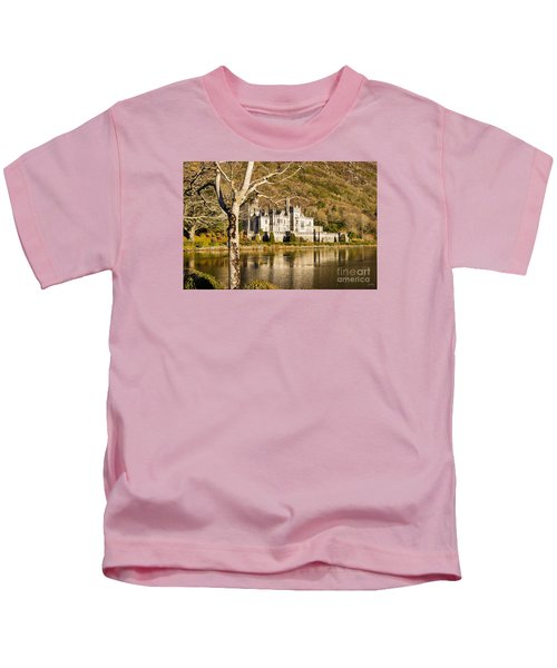 Kylemore Abbey In Winter Kids T-Shirt