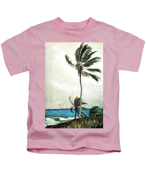 Palm Tree Nassau Kids T-Shirt