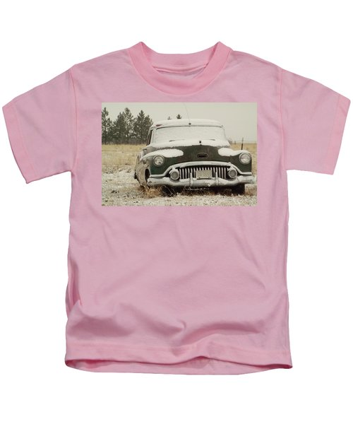 Rusting In The Snow Kids T-Shirt