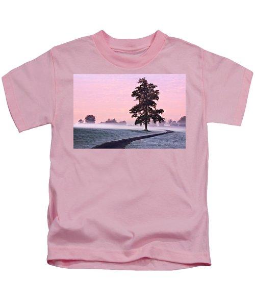 Tree At Dawn / Maynooth Kids T-Shirt