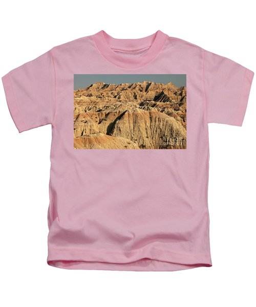 White River Valley Overlook Badlands National Park Kids T-Shirt