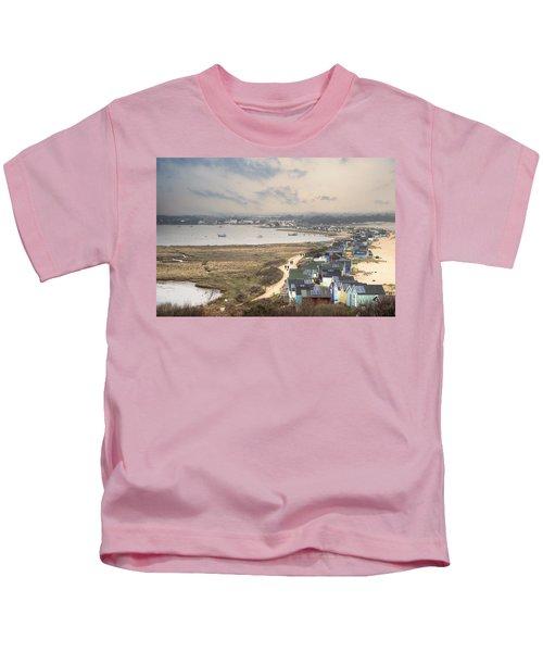 Hengistbury Head - England Kids T-Shirt