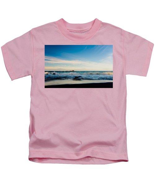 Sunlight On Beach Kids T-Shirt