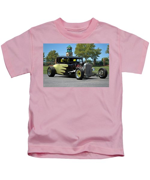1930 Ford Coupe Hot Rod Kids T-Shirt