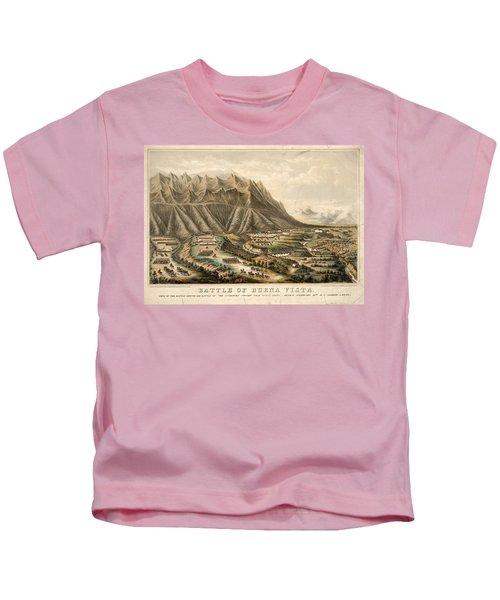 Battle Of Buena Vista, 1847 Kids T-Shirt