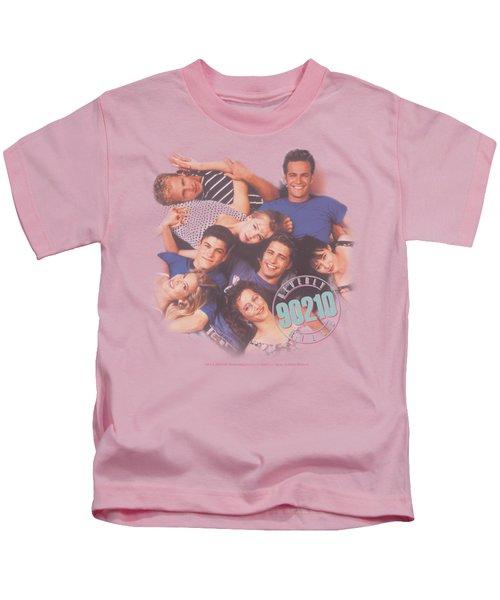90210 - Gang In Logo Kids T-Shirt