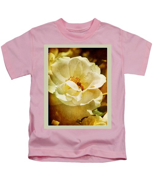A Bee And Rose Kids T-Shirt