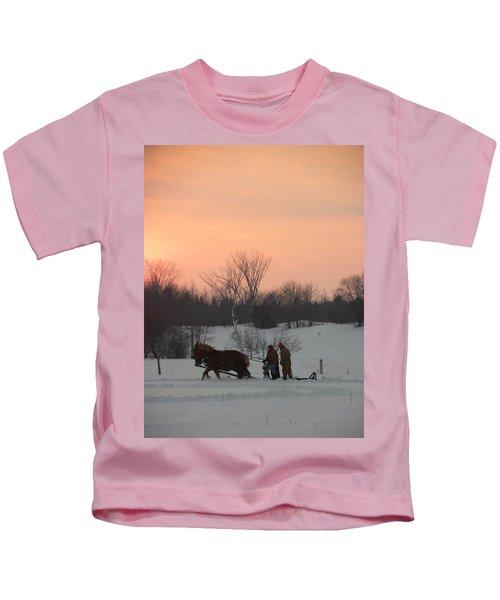A Breath Of Fresh Air Kids T-Shirt