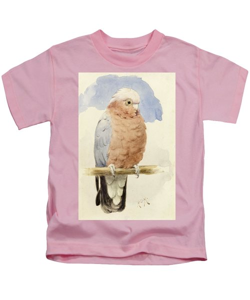 A Rose Breasted Cockatoo Kids T-Shirt