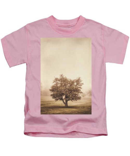 A Tree In The Fog Kids T-Shirt