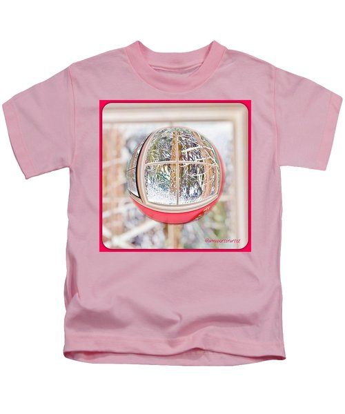 A Winter Marble From Christmas Past Kids T-Shirt