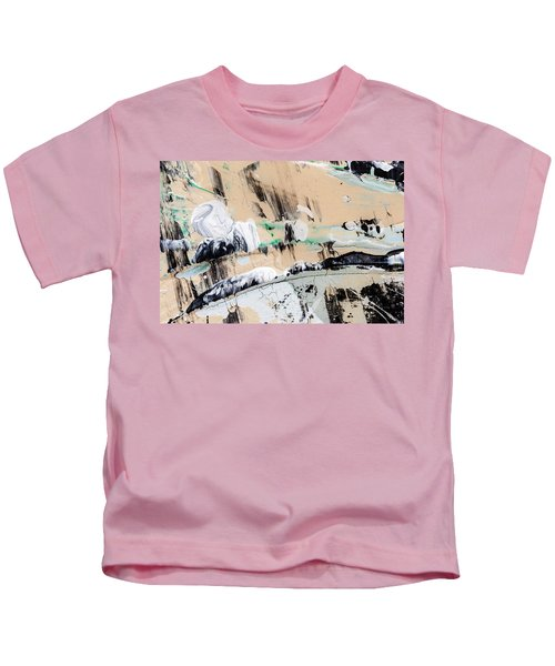 Abstract Original Painting Number Seven  Kids T-Shirt