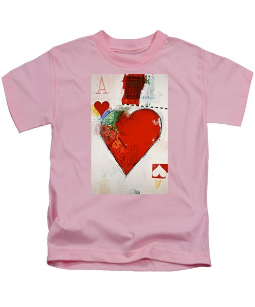 Ace Of Hearts 8-52 Kids T-Shirt