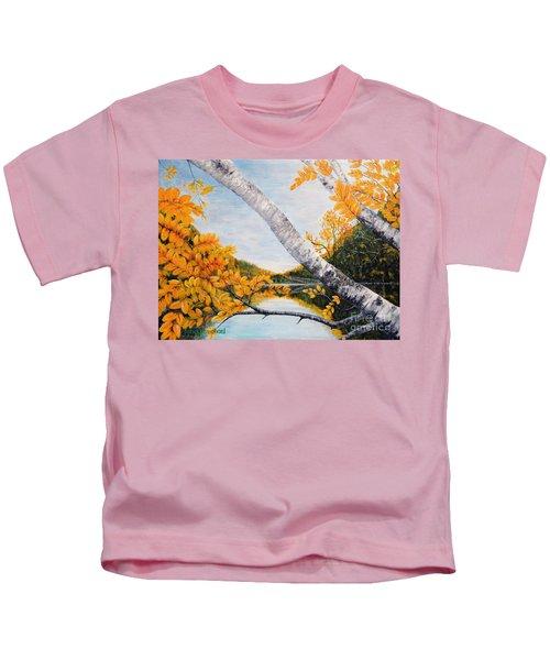 Adirondacks New York Kids T-Shirt