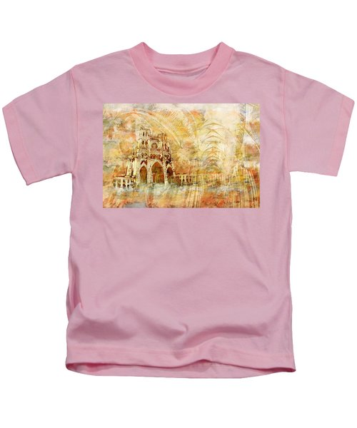Amiens Cathedral Kids T-Shirt