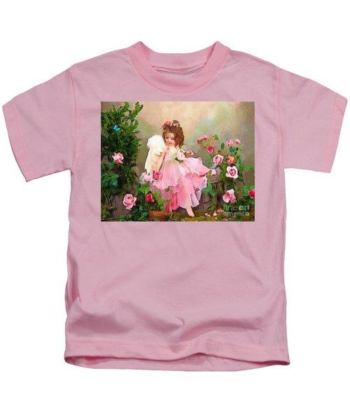 Angel And Baby  Kids T-Shirt