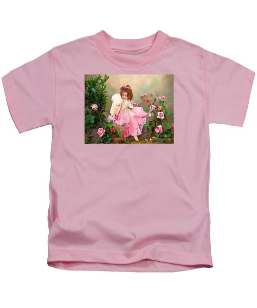 Angel And Baby  Kids T-Shirt