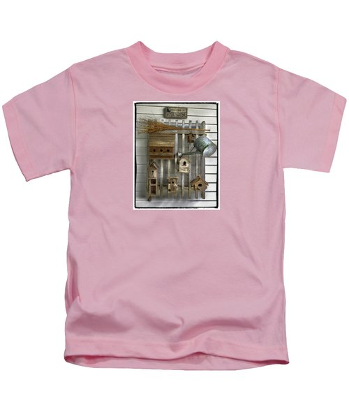 Another Day In Paradise Kids T-Shirt