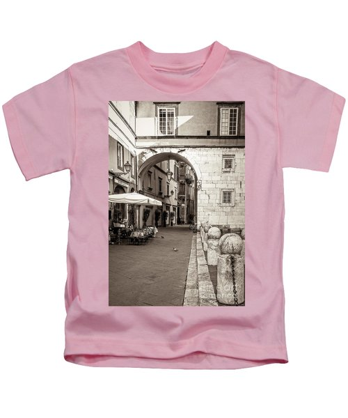 Archway Over Street Kids T-Shirt