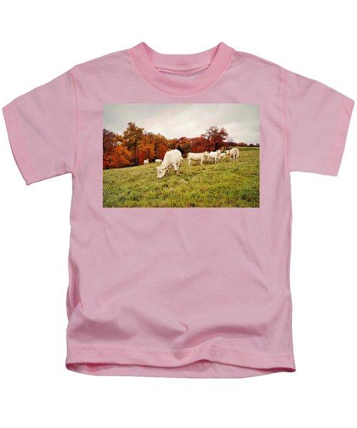 Autumn Pastures Kids T-Shirt