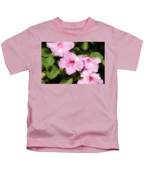 Azaelas Under Glass Kids T-Shirt