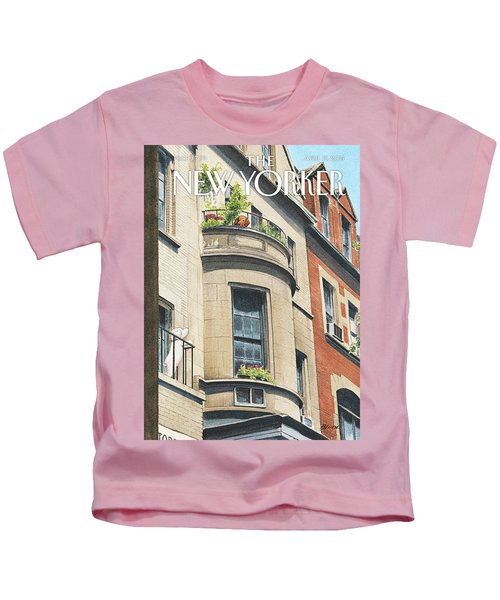 Balcony Scene Kids T-Shirt
