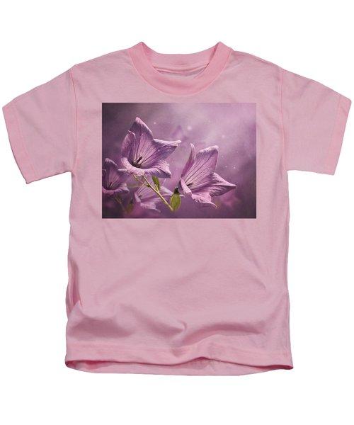 Balloon Flowers Kids T-Shirt