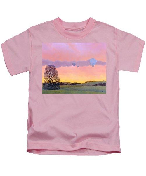 Balloon Race Kids T-Shirt
