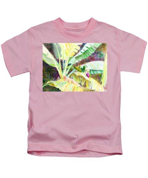 Banana Tree Kids T-Shirt