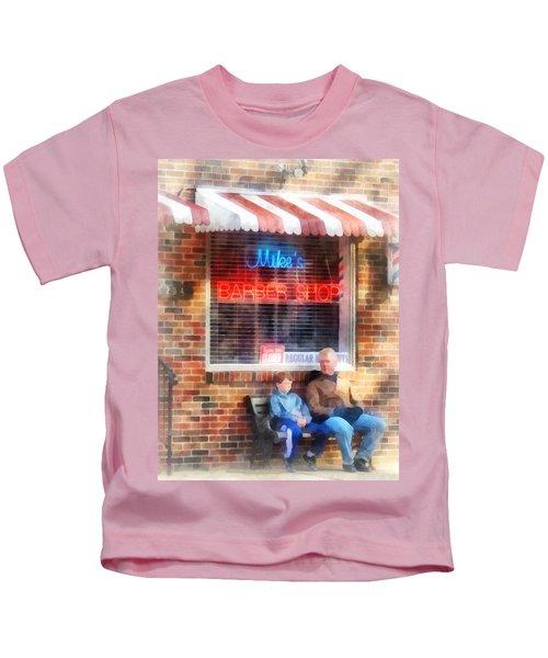 Barber - Neighborhood Barber Shop Kids T-Shirt