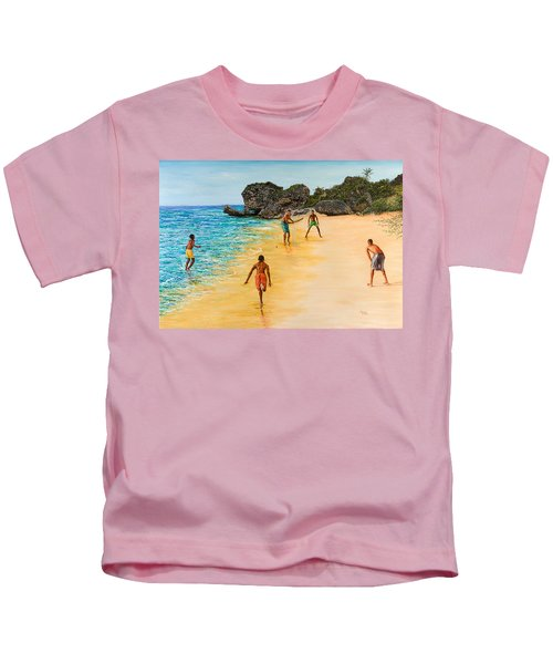Beach Cricket Kids T-Shirt