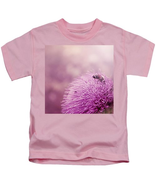 Beauty And The Bee Kids T-Shirt