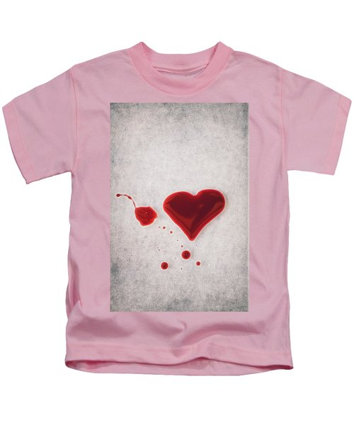 Bloody Heart Kids T-Shirt