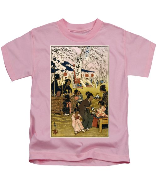 Blossom Time In Tokyo Kids T-Shirt